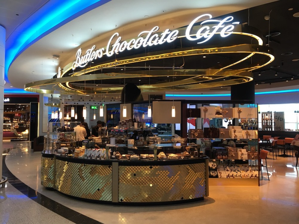 Butlers Chocolate Cafe Dubai Airport
